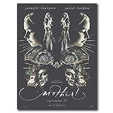 ASLKUYT ¡Madre!2017 película película Javier Bardem carteles e impresiones arte cartel lienzo pintura decoración del hogar-20x28 en sin marco