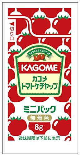 カゴメ カゴメトマトケチャップ ミニパック 8g×100袋 ×2