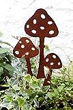 Lilienburg Roststecker Gartenstecker Rost Metall (Pilze)
