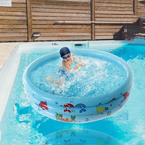 Zwembad voor kinderen, opblaasbare veilige zomer zwembad waterpartyverzorging voor babykinderen volwassenen