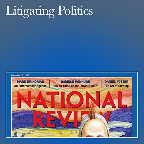 Litigating Politics audiobook cover art