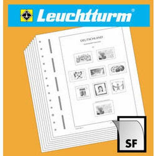 LEUCHTTURM feuilles complémentaires SF France - Feuillet multi-techniques Marianne 1944