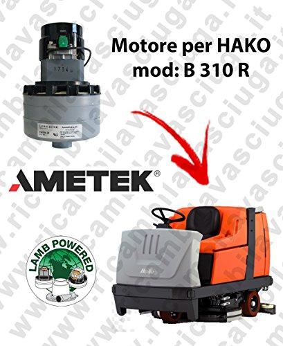 B 310 R motor Lamb Ametek stofzuiger voor HAKO