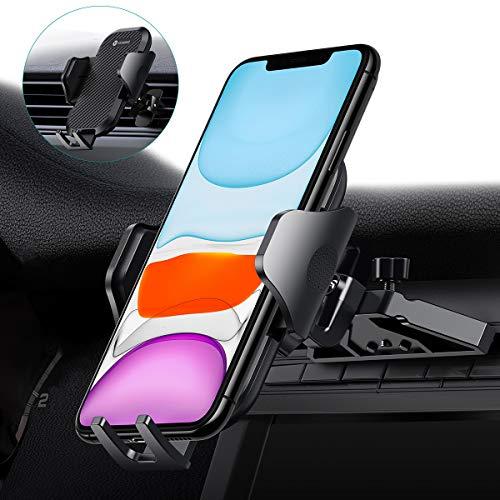 Vicseed KFZ-Handyhalterung, Autohalterung für Lüftungsschlitze, CD-Schlitz für Autos, Freisprecheinrichtung, kompatibel mit allen Handys