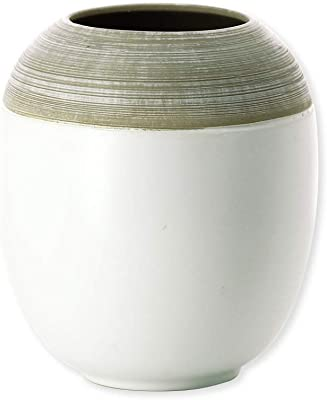 Bruno Evrard Astoria jarrón Blanco cerámica 17 cm – Robin