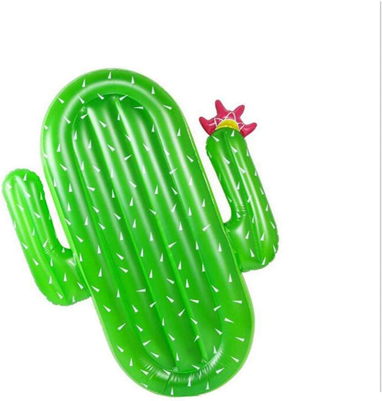 HYM Riesen-Cactus Pool Party Float Raft Outdoor Schwimmen Inflatable Lounge Pool Loungers Spielzeug für Erwachsene Kinder