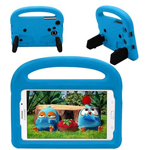 QYiD Funda para Galaxy Tab A 7.0' SM-T280/T285, Funda Protectora a Prueba de Golpes con Mango Ligero, Carcasa para niño para Galaxy Tab A 7.0 Pulgadas Tablet, Azul