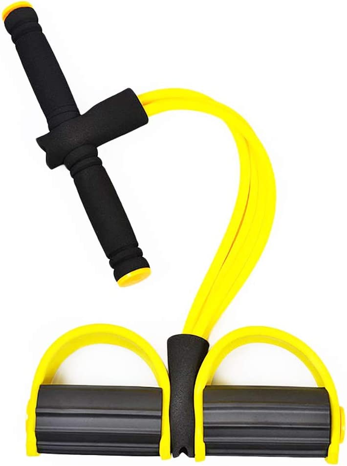 1 year warranty Bowltoo Exercise Bands Upgrade San Diego Mall 4 Tube Sit-ups Set Pedal Puller H