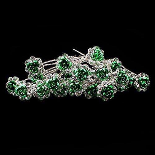 Hosaire 1X Broche de Mariposa Diamantes de Imitacion Moda Ropa de Mujer Vestido Bufanda Decoraci/ón para el Fiesta de Boda