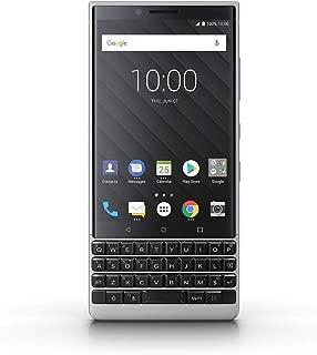 Blackberry KEYTWODS64GB4G 4.5 Inch Blackberry Key2 Dual SIM - 64GB, 6GB RAM, 4G LTE, Silver - Silver