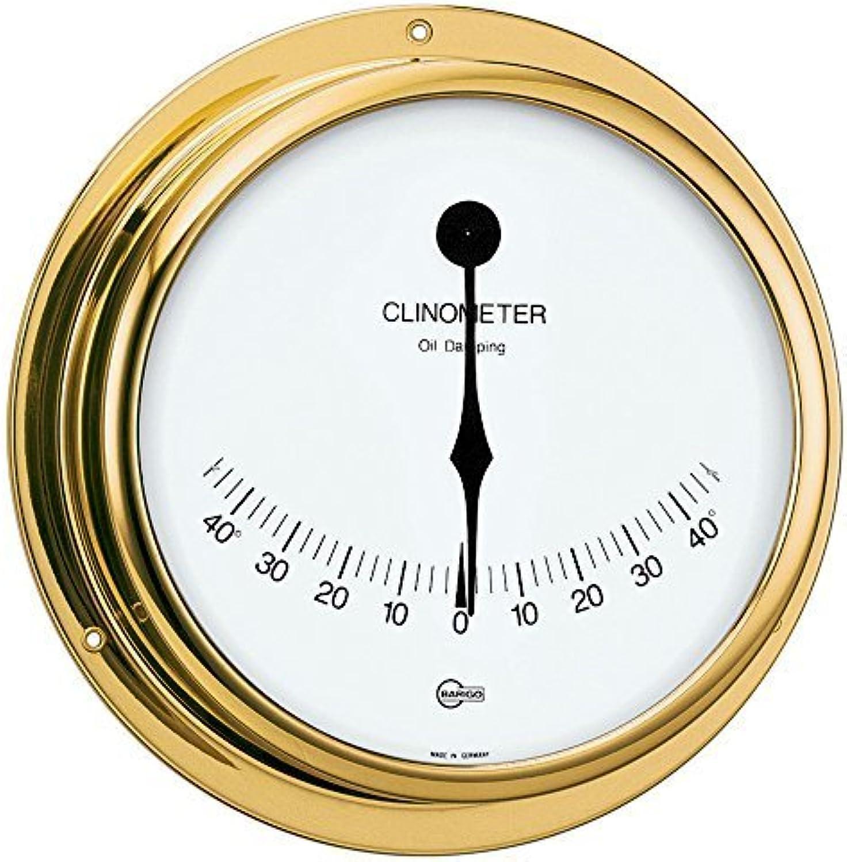 BARIGO Viking Series Ship's Clinometer  Brass Housing  5 Dial by Barigo