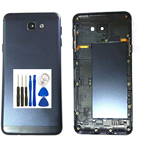 UPONEW Samsung Galaxy On5 SM-G550 G550FY G550T G550T1 G5500 S550TL Battery Cover - Black Battery Housing Door Cover with Opening Tools
