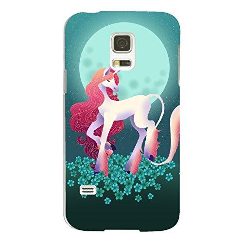 DISAGU Design Case Custodia Protettiva per Samsung Galaxy S5Mini Custodia Cover–Motivo Unicorno