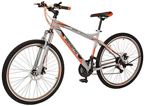 Benotto MSHIGN2921UNGR Bicicleta de Acero Rodada R29, Hombre, 21 Velocidades