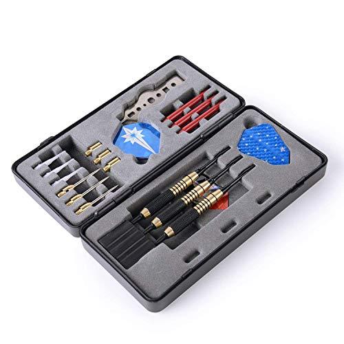 Premium Dartpfeile Dart Set Softdarts, Steeldarts und Zubehör in der praktischen Box, (25-teilig)