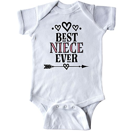 inktastic Best Niece Ever Gift from Aunt Infant Creeper Newborn White 2e987