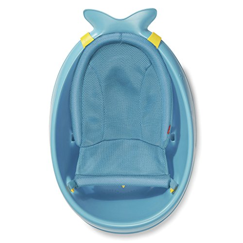 Skip Hop Moby Baby Bath Tub 3 in 1 Smart Sling, Blue