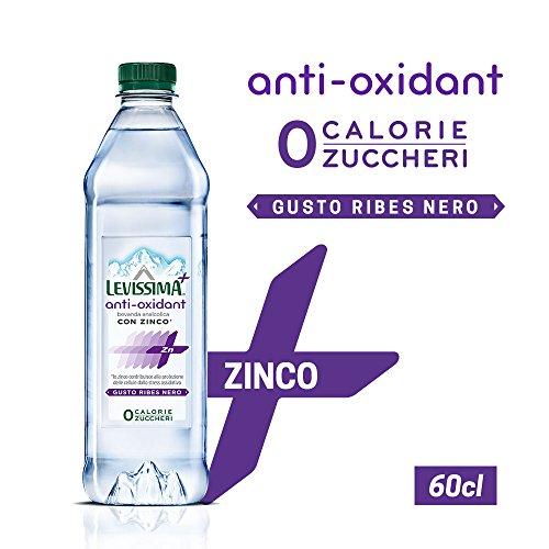 LEVISSIMA+ ANTI-OXIDANT, con acqua minerale naturale Levissima e Zinco 60cl