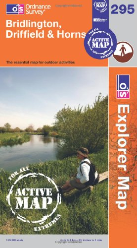 OS Explorer map 295 : Bridlington, Driffield & Hornsea