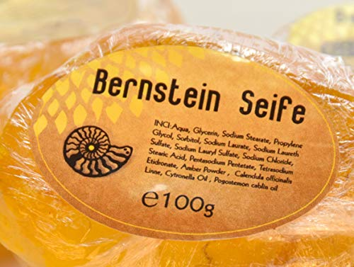 Bernsteinseife vom Klostermarkt