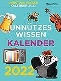 Unnützes Wissen Kalender 2022. Der beliebte, aber überflüssige Abreißkalender: Skurrile Fakten, die kein Mensch braucht
