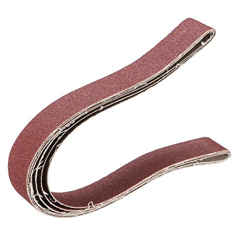 ハングアトラスグリルWchaoen 3本25×760ミリメートル100グリットサンディングベルト研磨工具 ハードウェア部品
