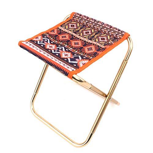 GoodFaith Mini Hocker Faltender Ministuhl Tragbarer Sitz Schemel kampierenden Stuhl für Outdoor Fischen Camping Picknick