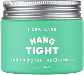 I DEW CARE Magic Clay Mud Mask #HANG TIGHT, 2.46 Ounces, Tea Tree Clay mask, For oily skin, Cleanse Pores, Hydrate skin, Anti Sebum, Pores tightening