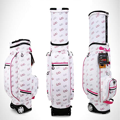 Why Choose DUOUH Golf Retractable Bag, Ladies Printed Bag, with Pulley, Multi-Function Waterproof Ba...