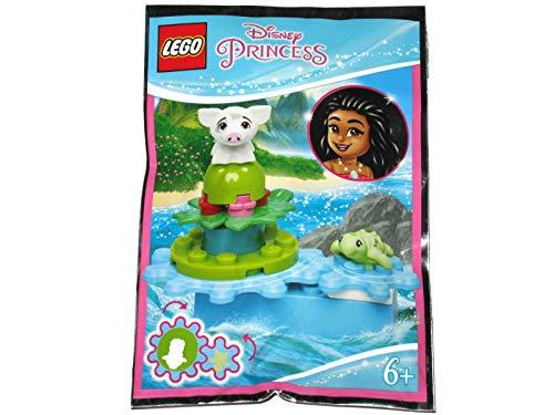 Blue Ocean LEGO Disney Moana Pua Pig and Turtle Minifigure Foil Pack 302008 (empaquetado)