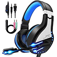 NPET HS10 Stereo Gaming Headset for PS4, PC, Xbox One Controller