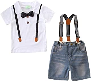 男の子 ベビー フォーマル スーツ 子供服 半袖 おしゃれ サスペンダー ボウタイ 結婚式 セレモニー 入園式 柔らかい 人気