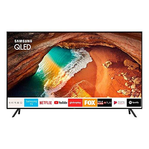 """Samsung Smart Tv Qled 65"""" 4k Q60 Pontos Quanticos, Hdr500, Modo Ambiente, Sem Efeito Burn-in"""