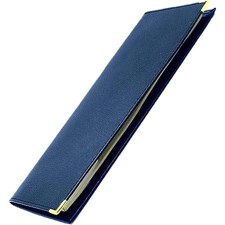 Porte Chéquier standard Deux plis classique en Cuir Homme Femme