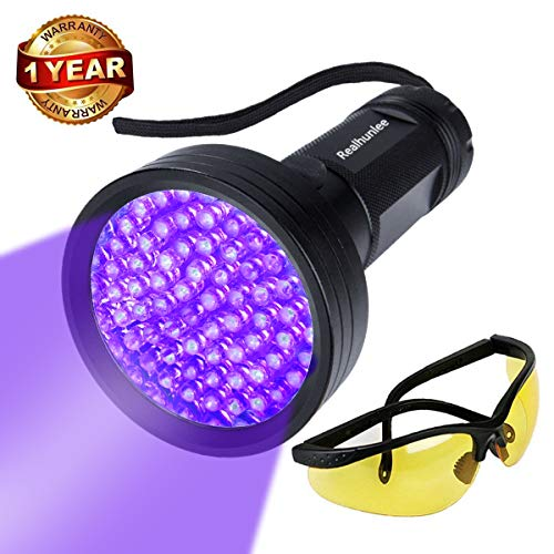 UV Black Light Flashlight, Super Bright 68 LED #1 Best Pet Dog Cat Urine Detector light Flashlight...