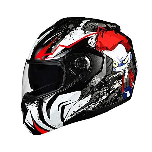 Off-road outdoor motorfiets elektrische fietshelm rijden sport fiets beschermende helm-infrarood ster Lichte, comfortabele en veilige helm_XL