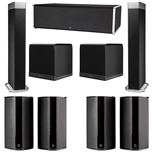 Best Price Definitive Technology 7.2 System with 2 BP9080X Tower Speakers, 1 CS9080 Center Channel S...