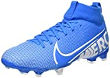 Nike Superfly 7 Academy Fg/MG, Football Shoe Unisex-Child, Blue Hero/White-Obsidian, 35 EU