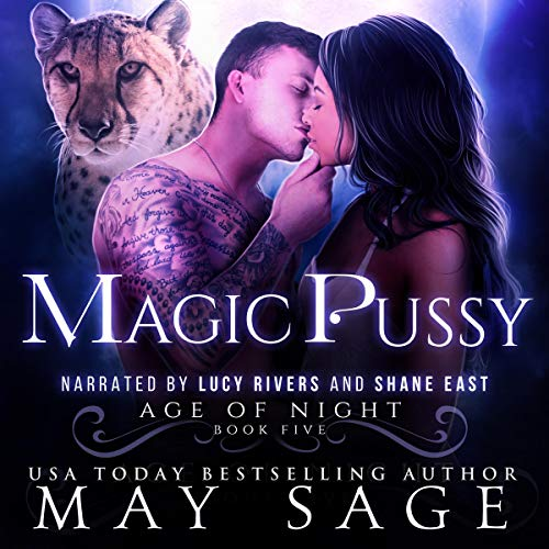 Magic Pussy audiobook cover art