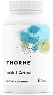 Thorne Research - Indole-3-Carbinol - I3C Supplement to Support Estrogen Metabolism - 60 Capsules