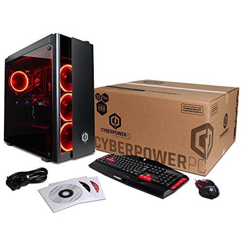 Ordinateur de Bureau CYBERPOWERPC Gamer Xtreme VR avec processeur Intel i7-8700K - 6