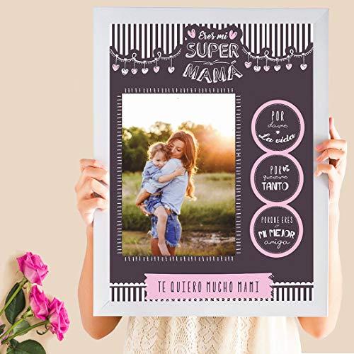 Cuadro Personalizado Día de La Madre | Regalo mamá personalizado con fotografía