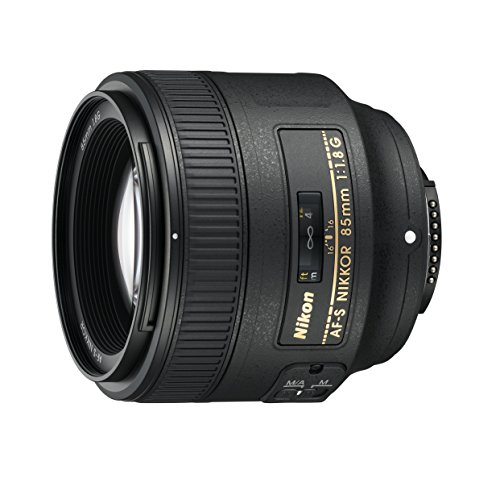 Nikon AF S NIKKOR 85mm f/1.8G Fixed Lens with Auto Focus for Nikon DSLR Cameras