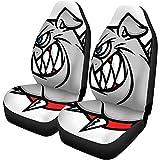 Fundas de asiento de coche Mascota Bulldog Extreme Collar Agresión deportiva...