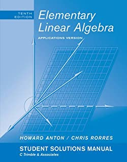 Elementary Linear Algebra with Applications: Student Solutions Manual