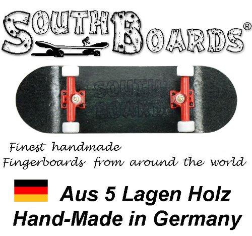 Unbekannt Komplett Fingerskateboard SWZ/RT/WS SOUTHBOARDS® Handmade Wood Fingerboard Echtholz