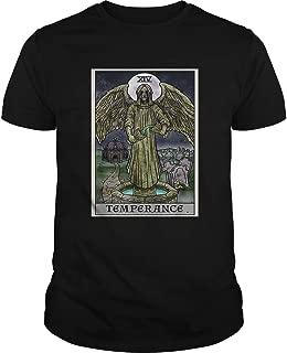 Temperance Card Gothic Halloween Crying Angel Statue shirt, Short Sleeves Shirt, Unisex Hoodie, Sweatshirt For Mens Womens Ladies Kids