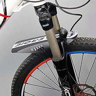 luoshui Accesorios de la Bicicleta 2pcs MTB Road Bike Barro Flaps Ciclismo Wings Frente Bicicleta Guardabarros para Mountain Bike Guardabarros