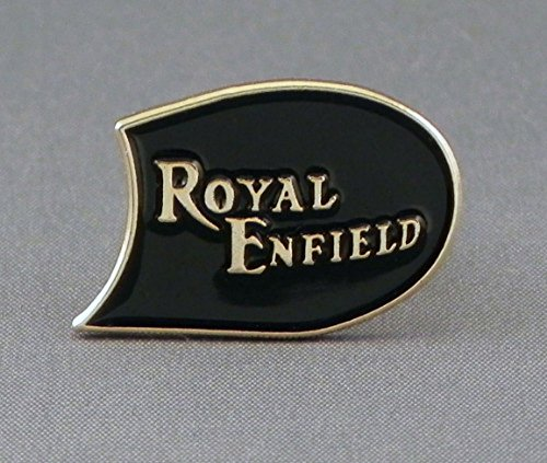 Metal Enamel Pin Badge Classic Royal Enfield 1960s British Rocker Motorbike Motorcycle