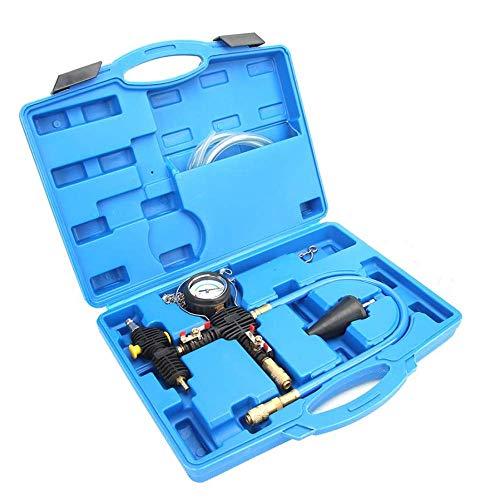 FACAIA Kit de vacío de refrigerante para automóvil, Sistema de enfriamiento Universal Juego de radiador Herramienta de Recarga y Purga Sistemas de enfriamiento Prueba de Fugas para camioneta SUV de